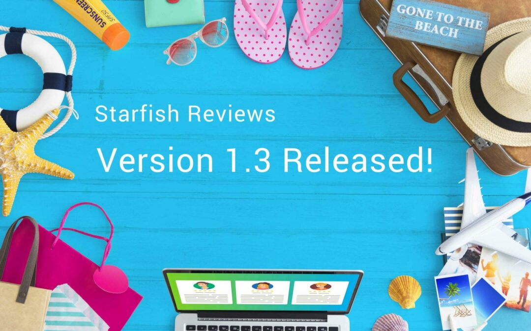 Starfish Reviews 1.3 is Here with New Positive/Negative Icons & Submitter Info Fields!