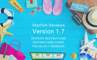 Starfish Reviews 1.7 — A New Chart, Reorder Destinations, & Link with Pre-selection